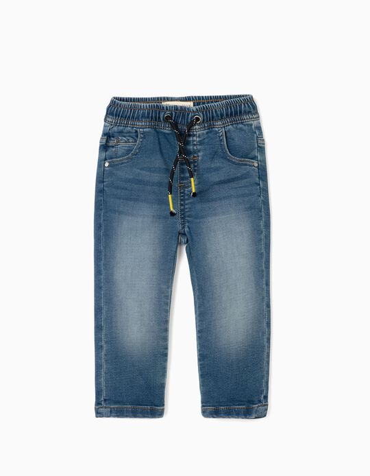 Denim Trousers for Baby Boys, Blue