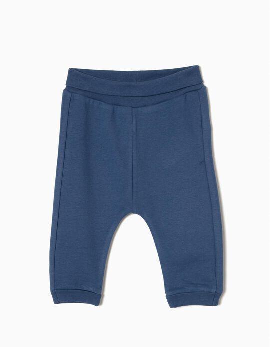 Calças Jersey Blue