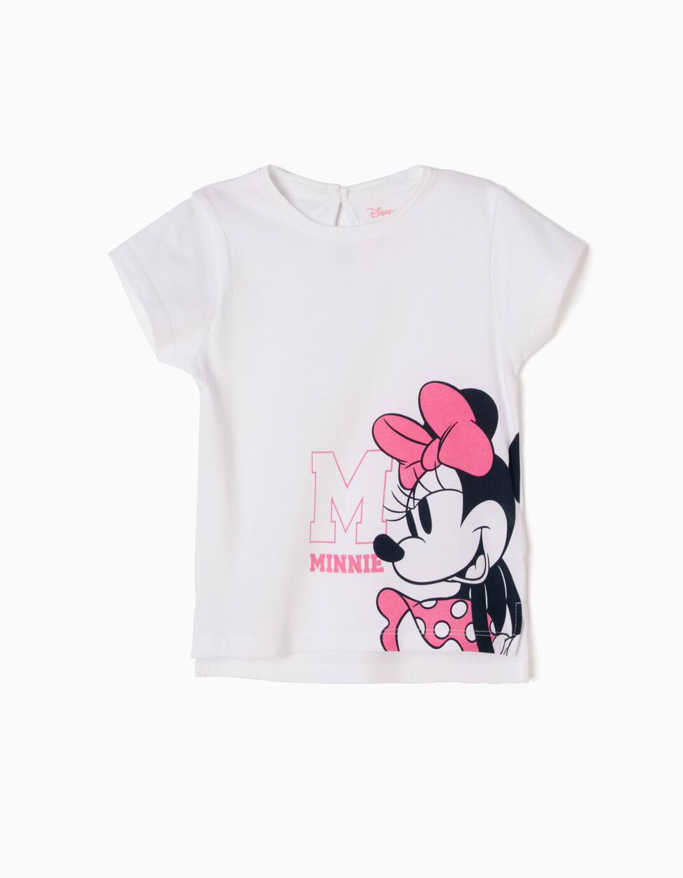 T-shirt Minnie Branca
