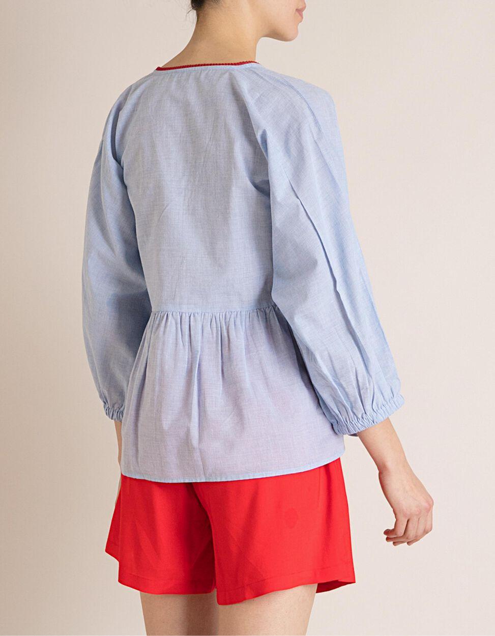 Blusa Com Folhos