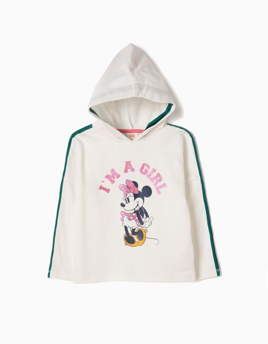 Sweatshirt com Capuz Minnie Girl