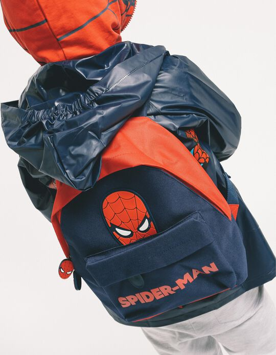 Backpack for Boys 'Spider-Man', Dark Blue/Red