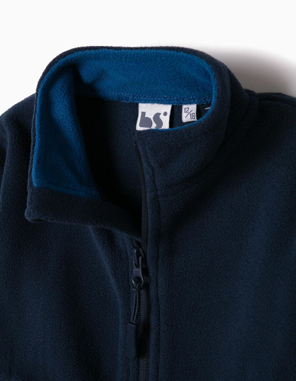 Casaco Polar Azul