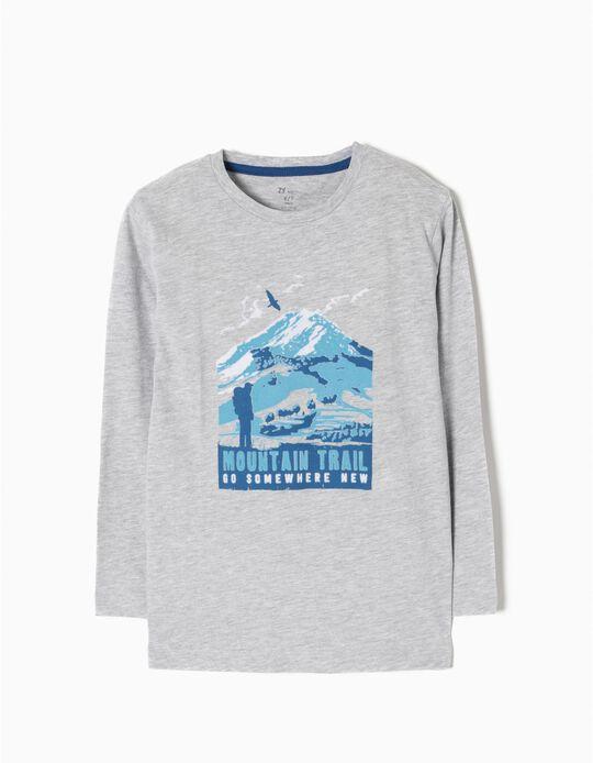 T-shirt Manga Comprida Trail