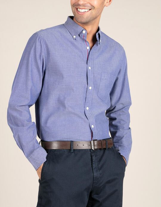 Camisa Regular Fit Denim
