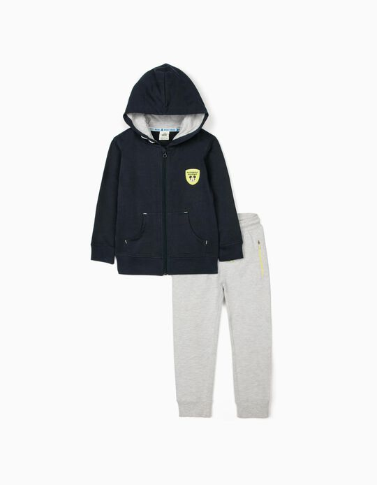 Tracksuit for Boys 'Mickey Astronaut', Blue/Grey