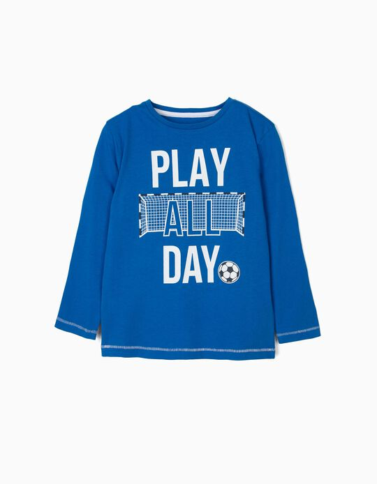 T-shirt estampada Play All Day