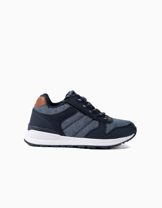 Combined Trainers for Boys 'ZY Easy', Blue