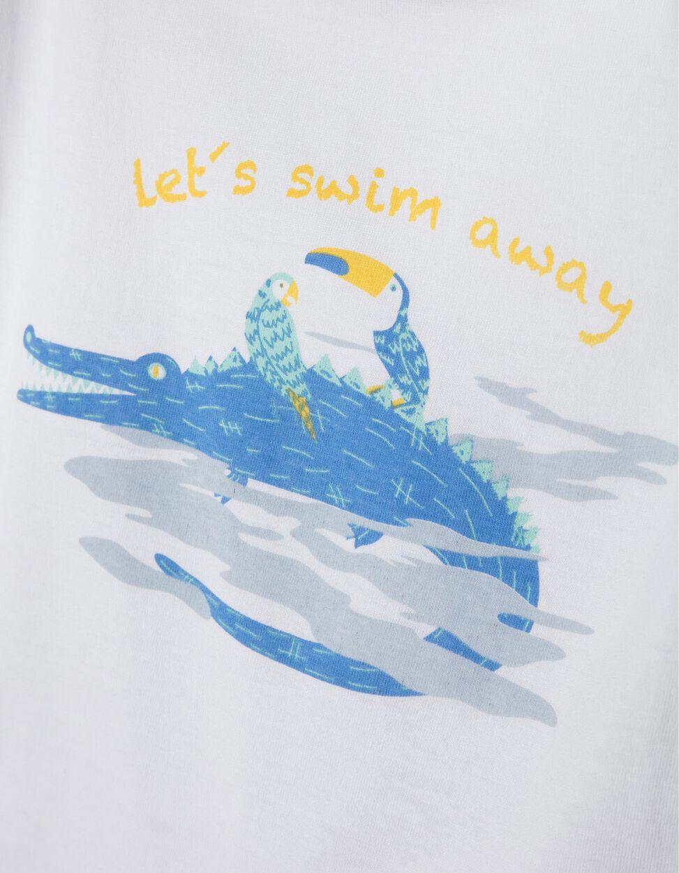 Pijama Manga Curta Swim Away