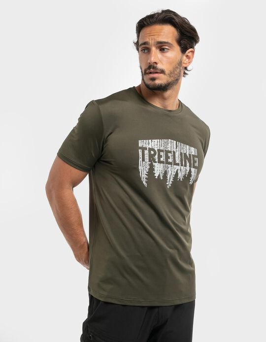 T-shirt estampado Treeline