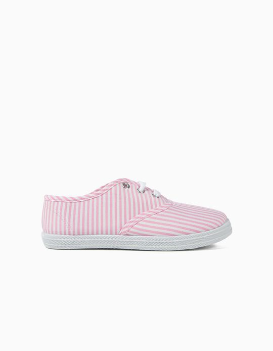 Striped Fabric Trainers