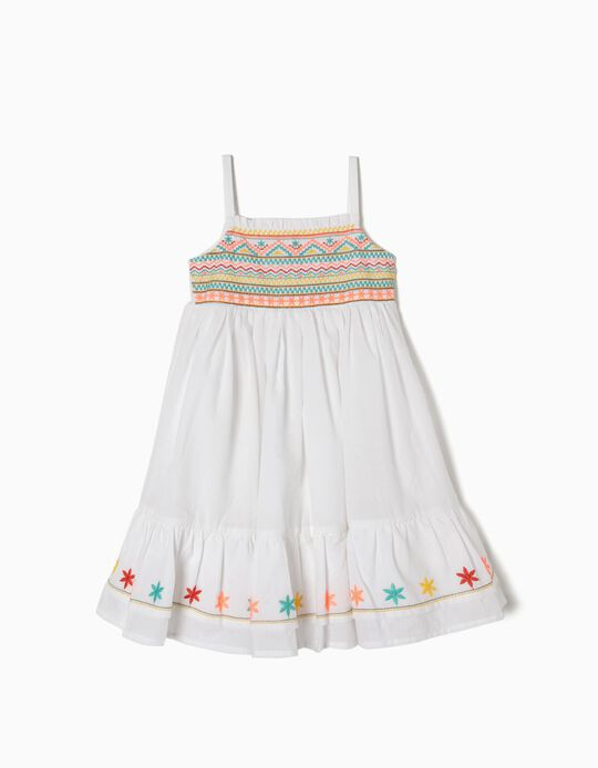 Dress with Embroideries