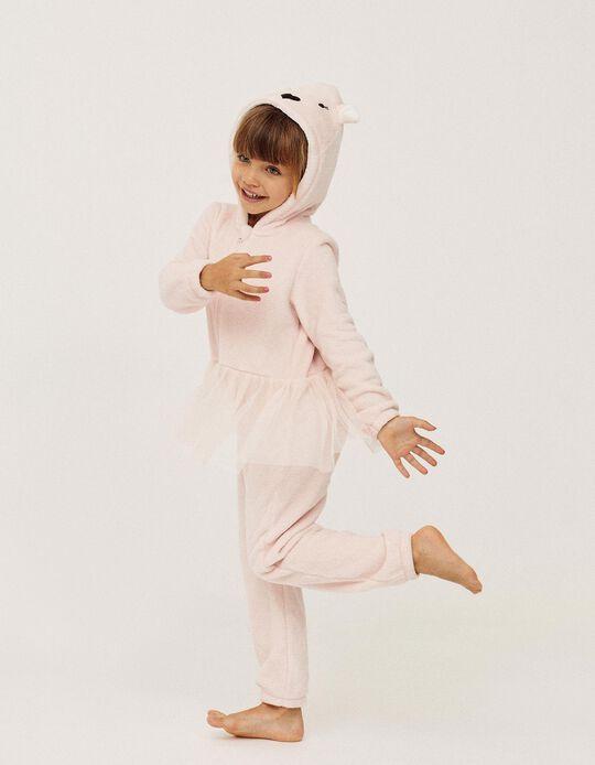Onesie for Girls 'Ballerina', Pink