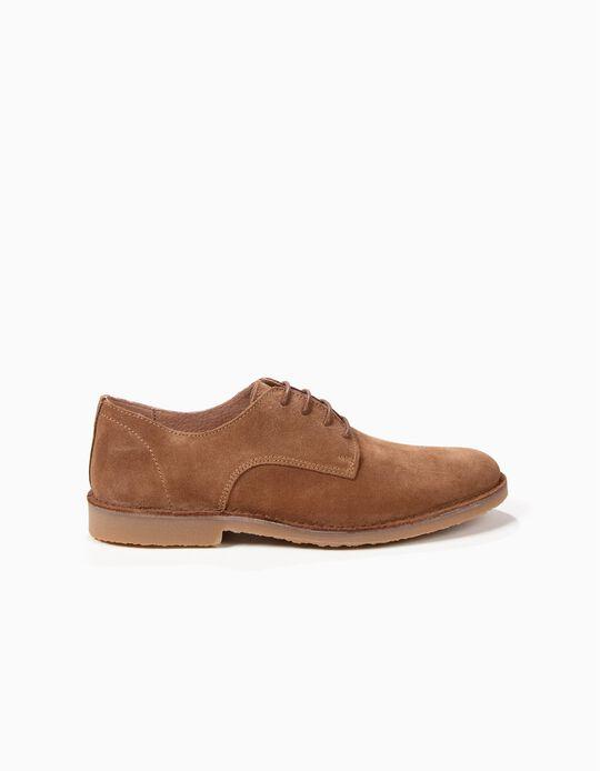 Sapatos Oxford camurcina