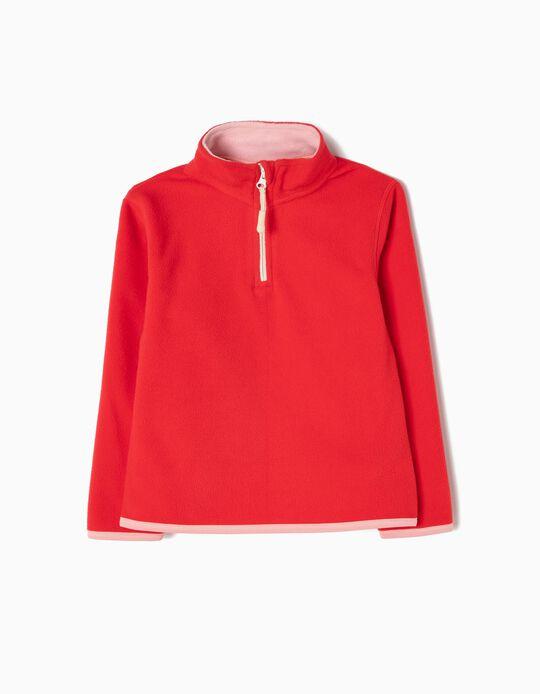 Camisola Polar Vermelha