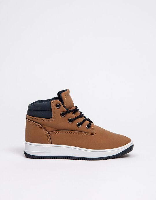 Sports Boots, Boys, Camel