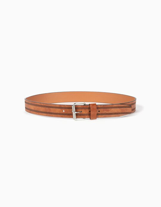 Belt with Double Stripe