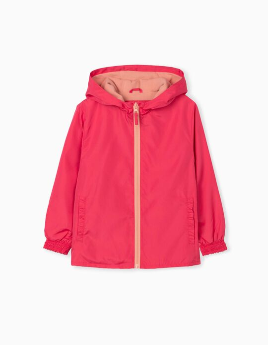 Hooded Jacket, Girls