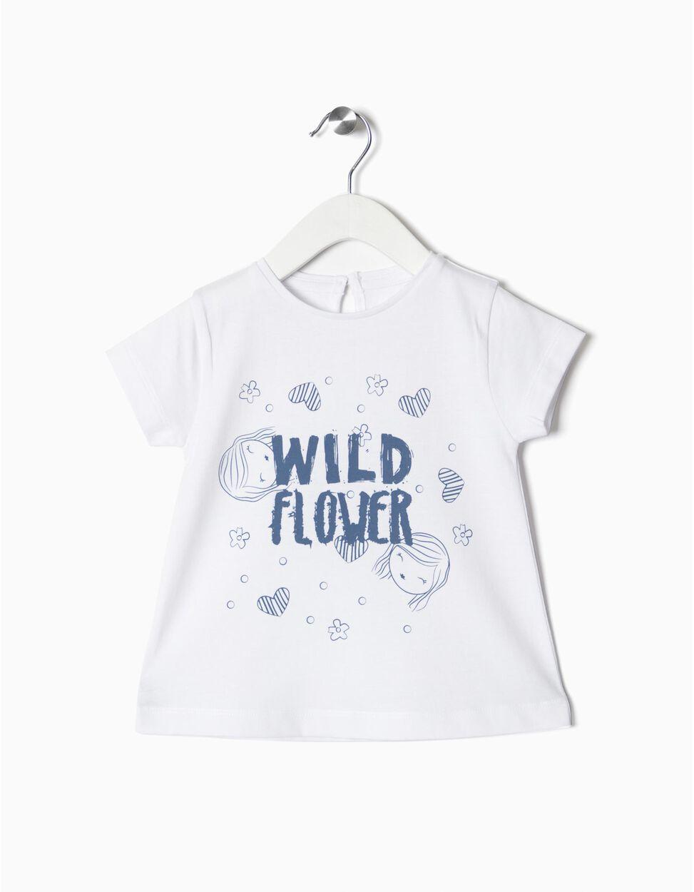 T-shirt wild flower