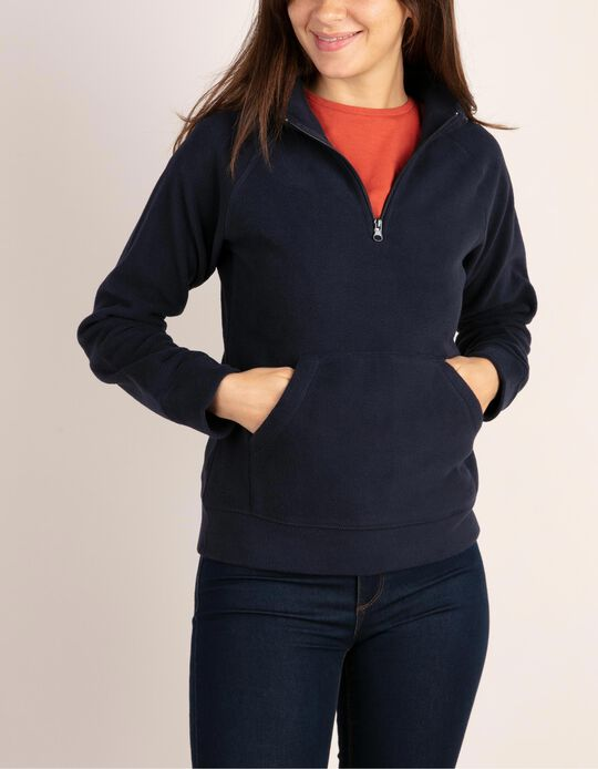 Camisola malha polar Essentials