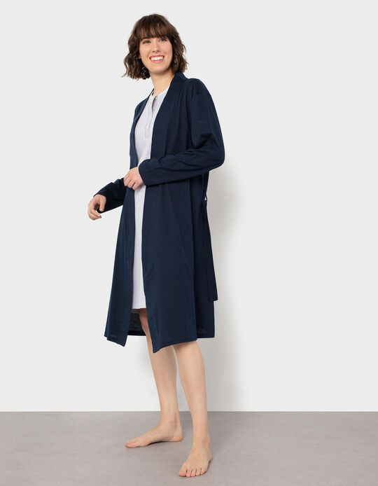 Dressing Gown with Belt, for Women