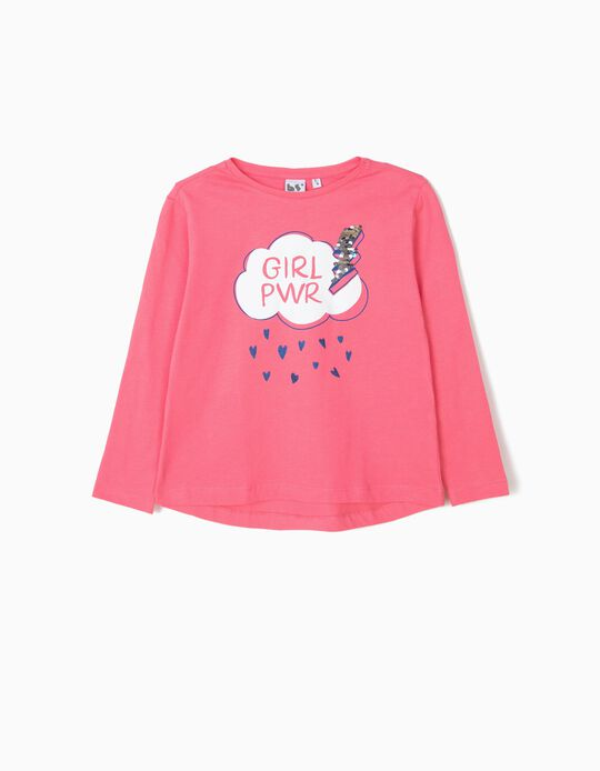 T-shirt Girl Powr