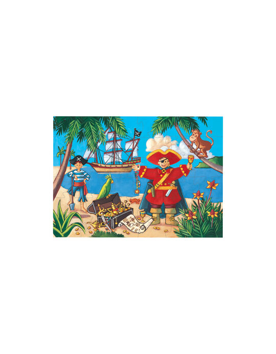 Puzzle Silhouette Pirate Djeco