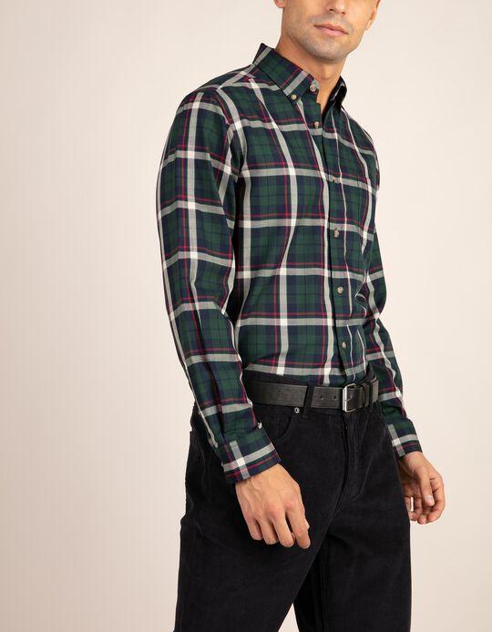 Camisa em tartan Essentials