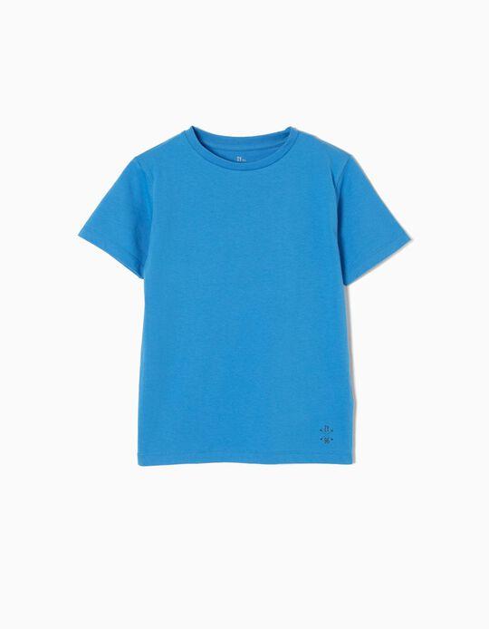 T-shirt Jersey Blue