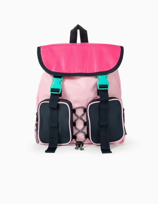 Sports Backpack for Girls 'ZY', Pink