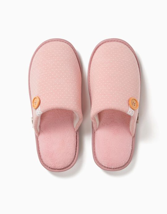 Bedroom Slippers with Button