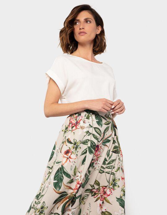 Linen T-shirt, Women