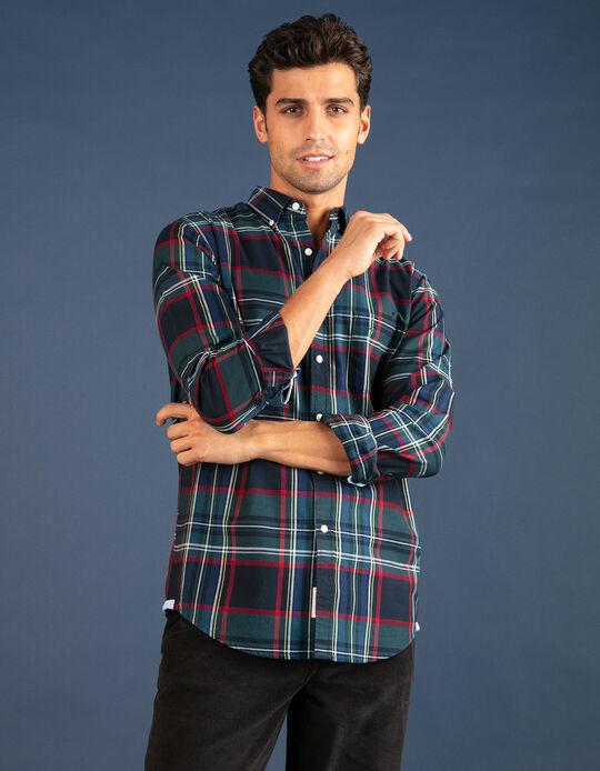 Camisa Oxford regular fit natalícia