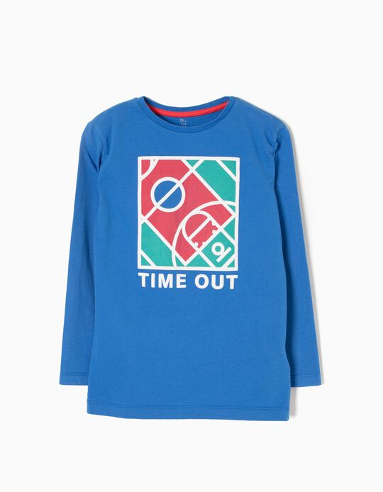 T-shirt Manga Comprida Time Out