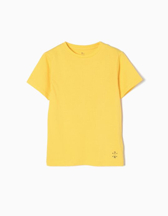 T-shirt Jersey Yellow