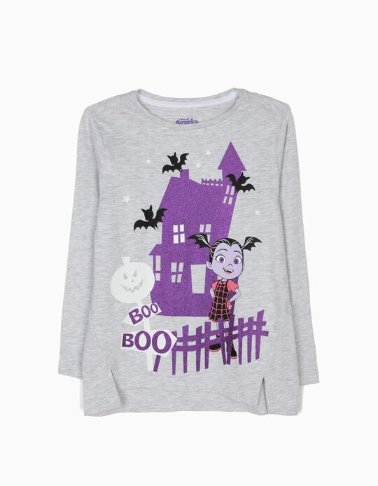 Grey Long-Sleeved Top, Vampirina