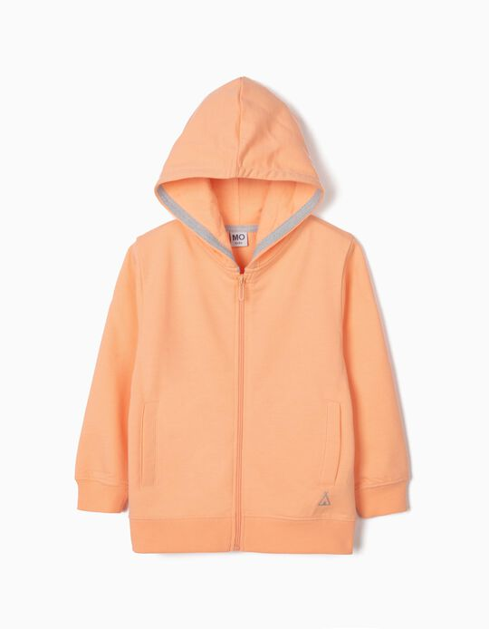 Plush Hooded Jacket for Girls