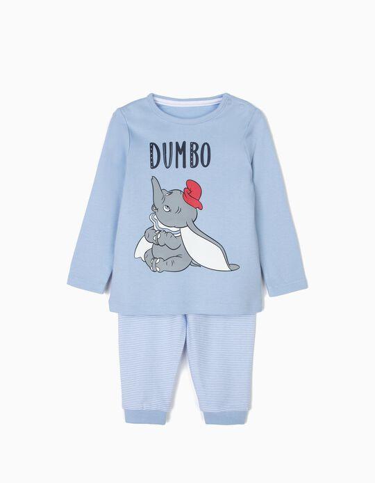 Pijama para Bebé Menino 'Dumbo', Azul Claro
