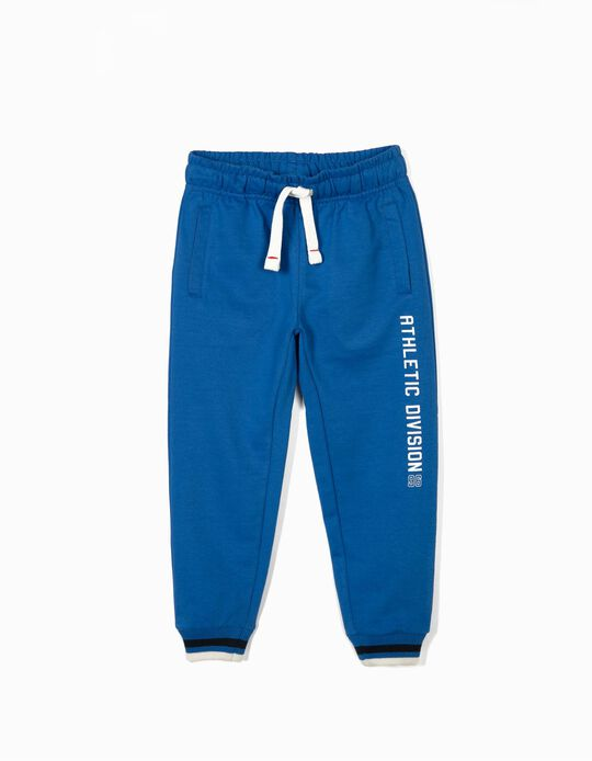 Joggers for Boys ' 'Athletic Division 96', Blue
