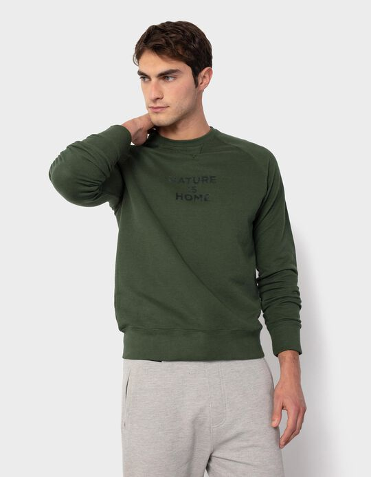 Textured Sweatshirt for Men