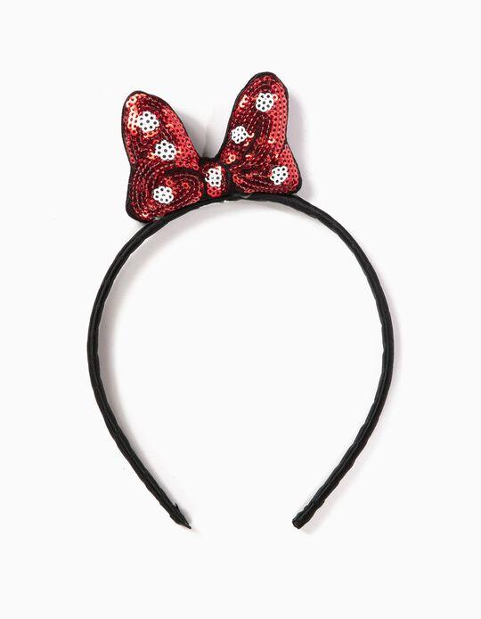 Bandolete Laço Minnie Mouse