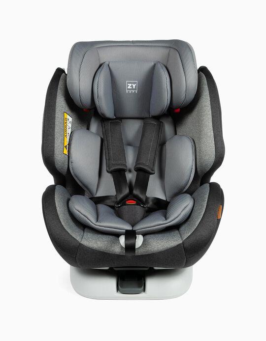 Cadeira Auto Gr 0/1/2/3 Premium Isofix One Zy Safe Melange Grey