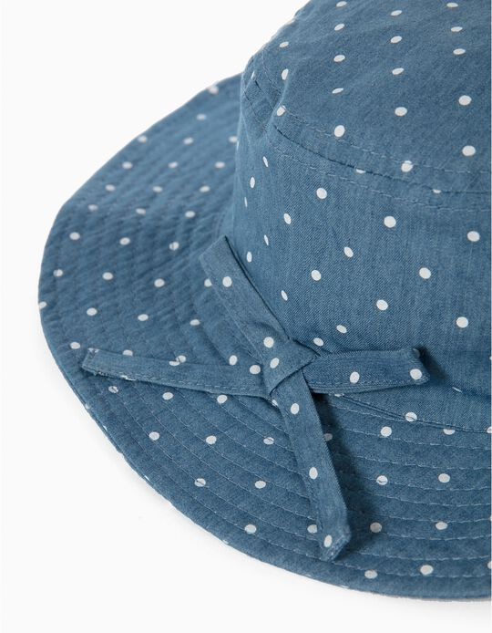 Denim Hat, Dots