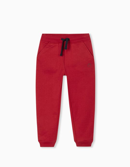 Joggers, Boys, Red