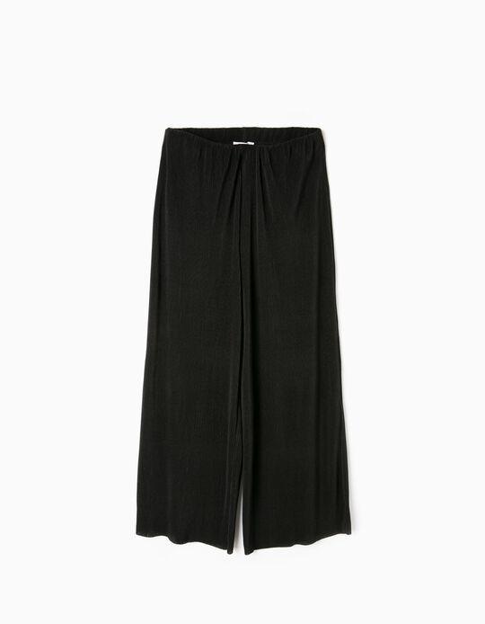 Culottes plissadas