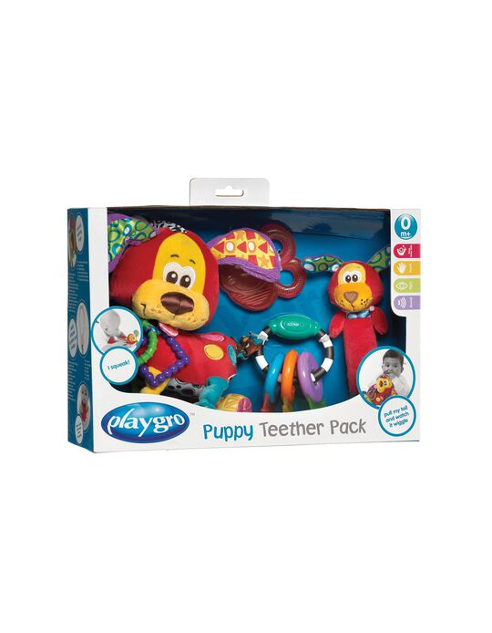 Pack Mordedores Puppy Playgro