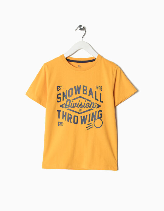 T-shirt Estampado Snowball