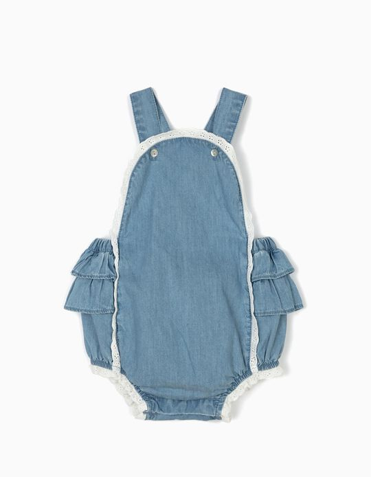 Comfort Denim' Jumpsuit for Newborn
