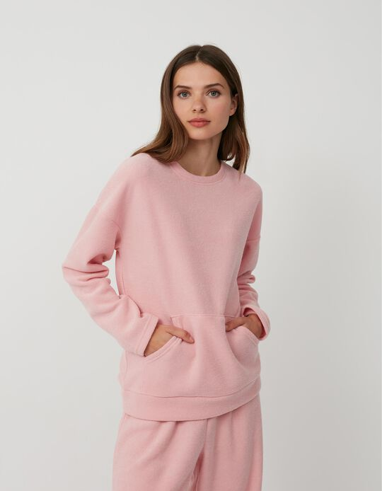 Pijama Tecido Turco, Mulher, Rosa