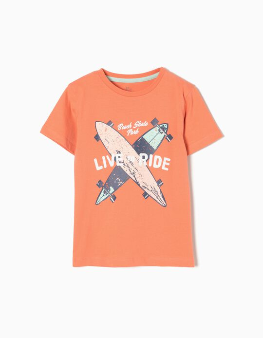 T-shirt Live or Ride